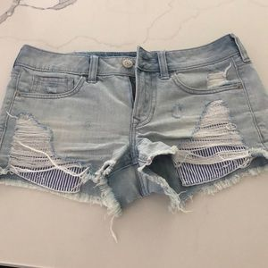 Express low rise shorts